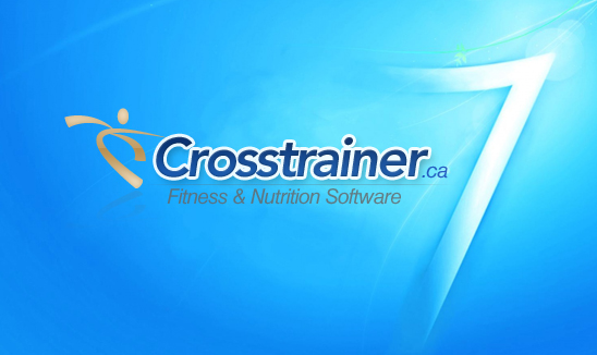 Crosstrainer 7 fitness software ad